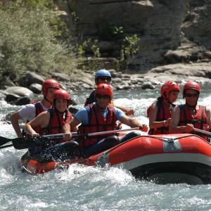 rafting eaux vives