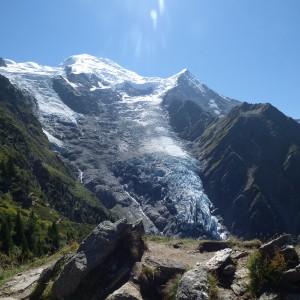vue du Glacier, randonnée la jonction