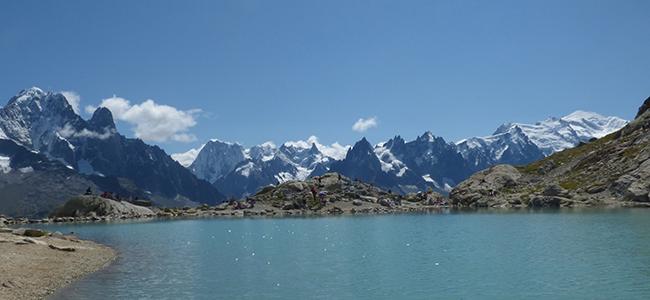 Lac Blanc en Haute-Savoie