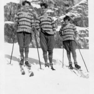 Histoire des vacances 3 hommes au ski