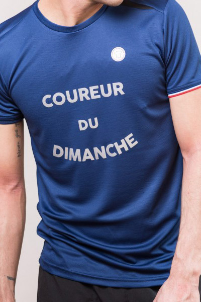 Coureur du dimanche made in France