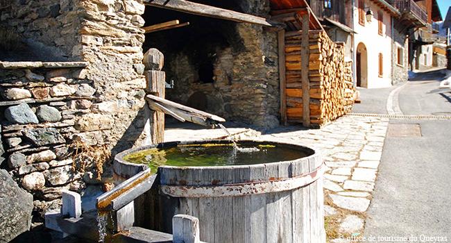 fontaine eau queyras arvieux