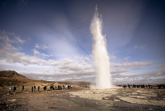 Photo geyser Strokkur