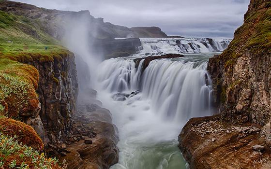 Photo chutes de Gullfoss