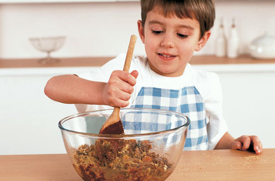 Image : Pâques - pâtisserie avec les enfants