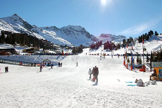 Image : La station de ski de la Plagne