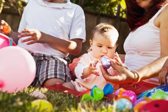 Image : Pâques - les oeufs mystères avec les enfants