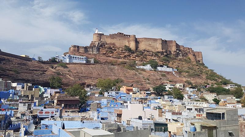 fort de Jodhpur, rajasthan