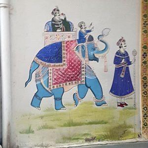 minitature éléphant udaipur