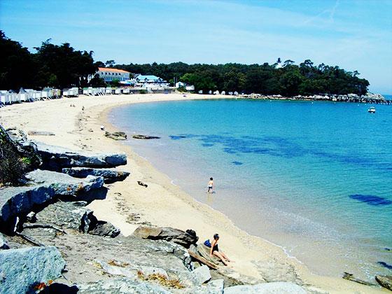 La plage des Dames à Noirmoutier