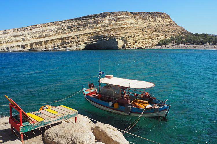 bateau pecheur - crete