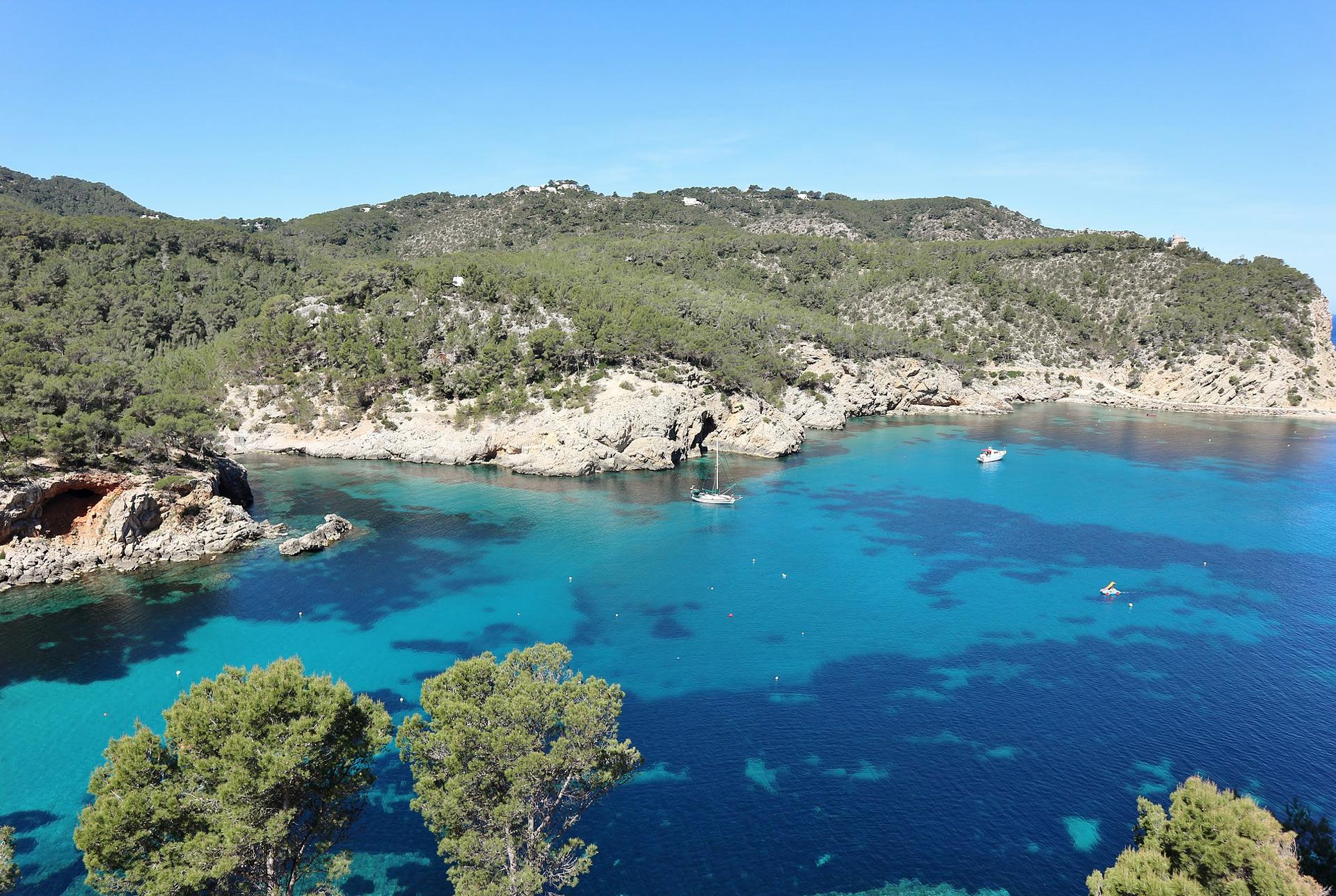 Playa Puerto de San Miguel, Ibiza