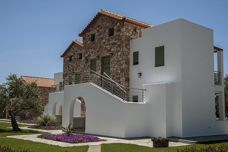 villa ouest peloponnese en grèce